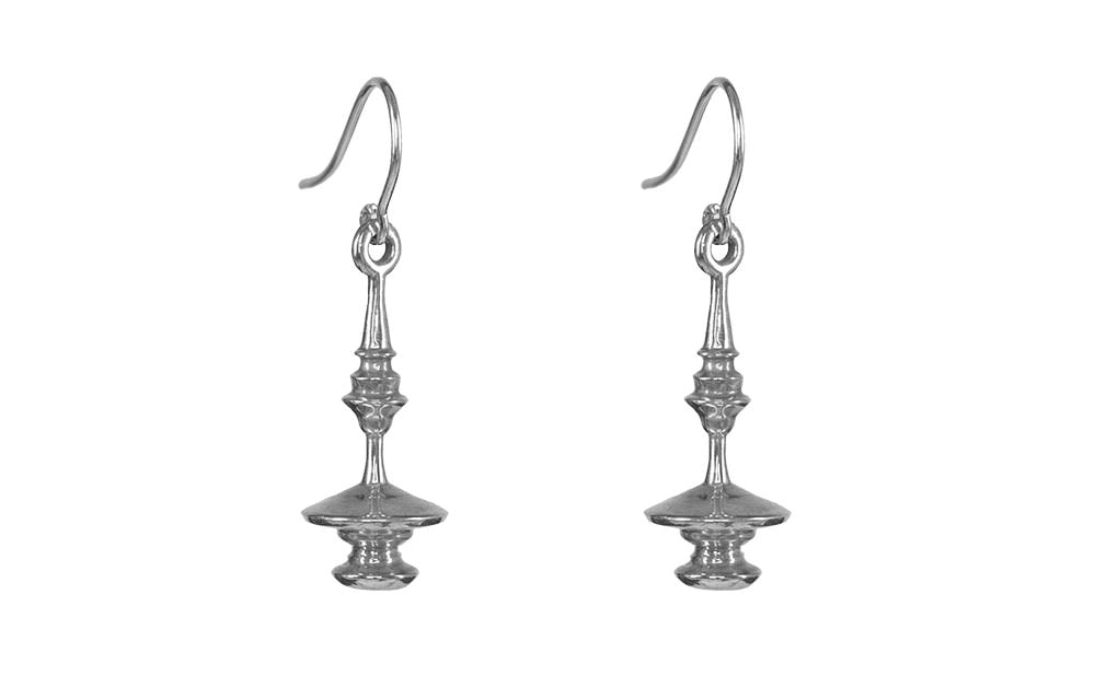 sliver earrings sterling silver aionios product mandakini from creations